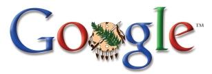 Google Logo with Shield